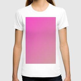 Pink Dazzle Rose gradient color T-shirt
