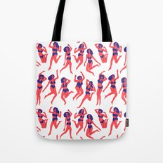 Underwear Dancing Tote Bag