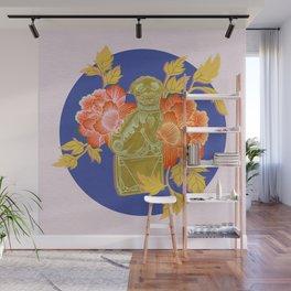 Guardian Lion, Left Wall Mural
