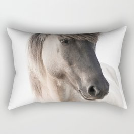 Horse Look Rectangular Pillow