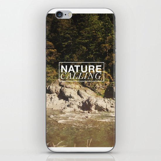 Nature Calling iPhone & iPod Skin