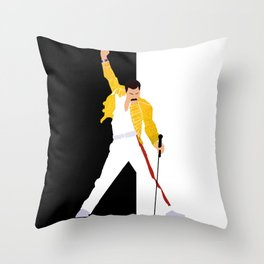 Freddie m Throw Pillow