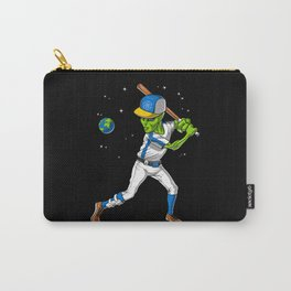 Alien Baseball Player Carry-All Pouch