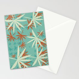 Leaves 7a Stationery Cards