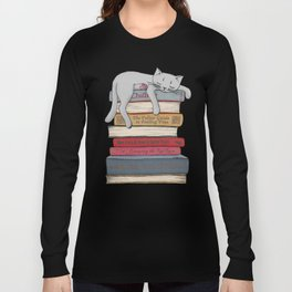How to Chill Like a Cat Long Sleeve T-shirt