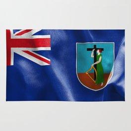 Montserrat Flag Rug