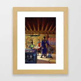 Technomage Framed Art Print