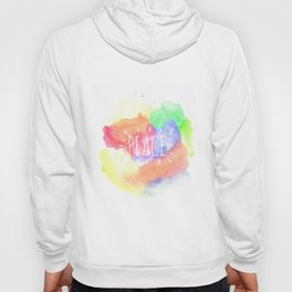 peace watercolour Hoody