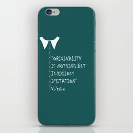 QUOTE-5 iPhone Skin