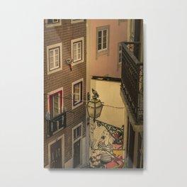 Alfama, Lisbon III (Color) Metal Print