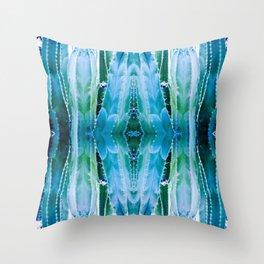 Scottsdale Blues Throw Pillow