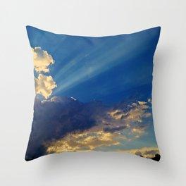 Skylights Throw Pillow