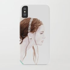 Girl Slim Case iPhone X