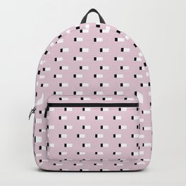 Minimal Squares - Dusty Rose Backpack