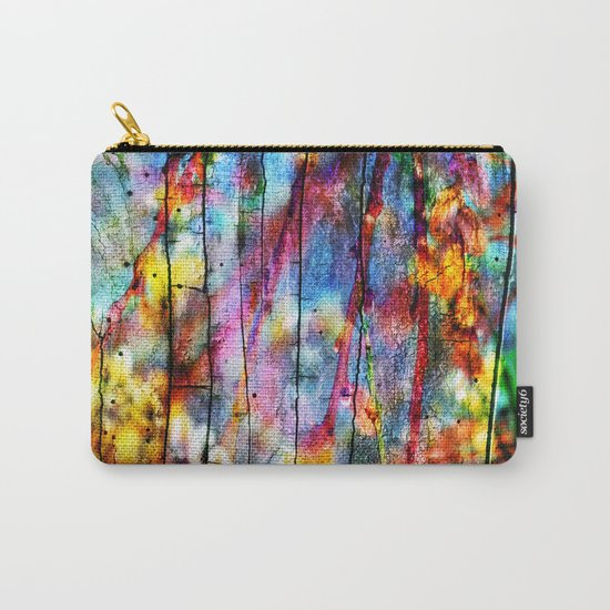 Colorful Symphony of Spring Carry-All Pouch