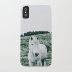 Icelandic Horses iPhone X Slim Case