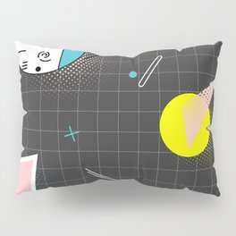 Memphis dark Pillow Sham