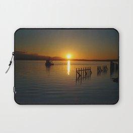 Sunset Tugboat Laptop Sleeve