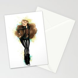 Pin up girl Stationery Cards
