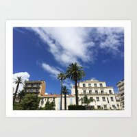 What Happens in Cannes... Art Print