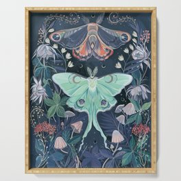 Luna Moth Serving Tray