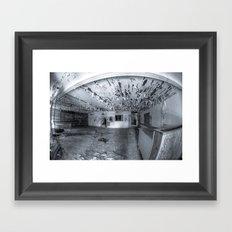 Dare you to Enter Framed Art Print