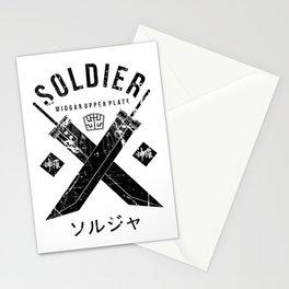 Midgar Upperplate Stationery Cards