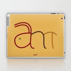 a- ant Laptop & iPad Skin