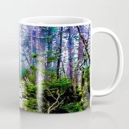 Misty Mountain Path Coffee Mug