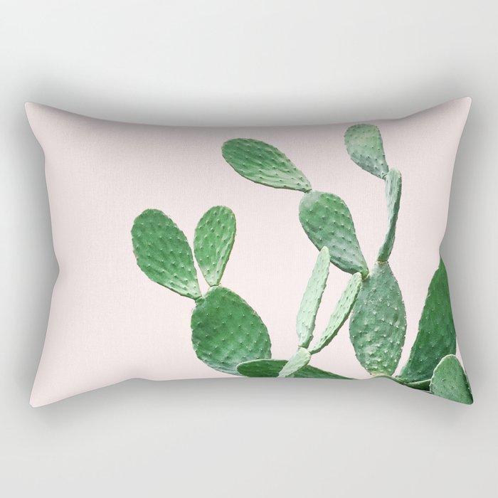 Cactus Opuntia Rectangular Pillow