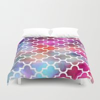 moroccan Duvet Covers featuring Moroccan by hollllllyj