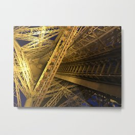 Under the Eiffel Tower Metal Print