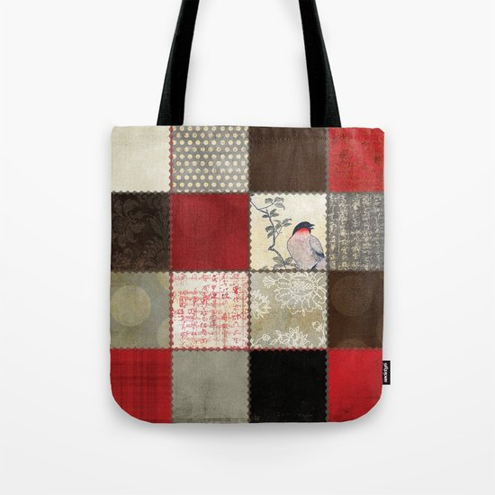 Ravenwood Patchwork Tote Bag