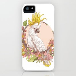 cacatoes iPhone Case