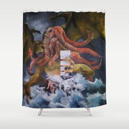 Chuthulu Fantasy Shower Curtain
