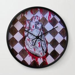 Bleeding Heart Wall Clock