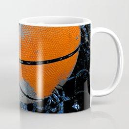 basketball print variant 3 Coffee Mug