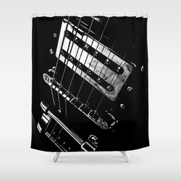 6 Strings Of Joy Shower Curtain