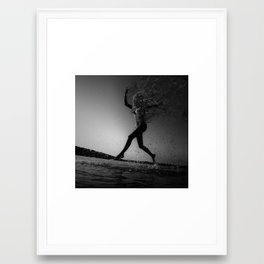 NOBody: Homogeneous Stagnation Framed Art Print