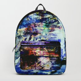 abstract painting 7b Backpack