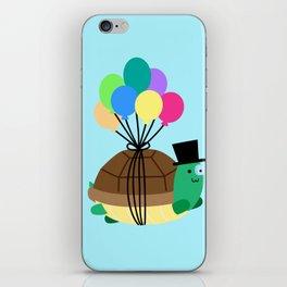 Flying Turtle iPhone Skin