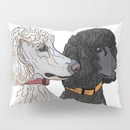 Pair of Poodles Pillow Sham