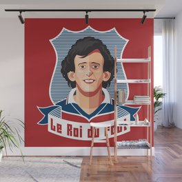 Le Roi du foot Wall Mural