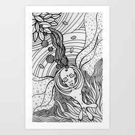 Cosmic Elevation Art Print