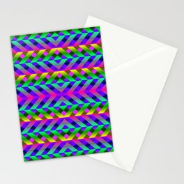 Rainbow Scaffolding Stationery Cards