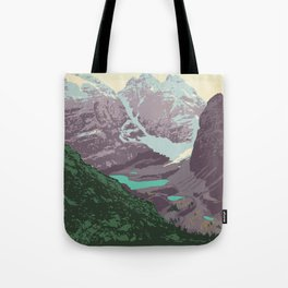 Yoho National Park Poster Tote Bag