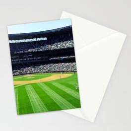 Safeco Field in Seattle Washington - Mariners baseball stadium Stationery Cards