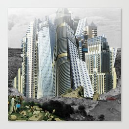 Turmbau zu Babel Canvas Print