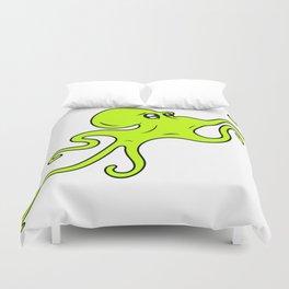 Alien Cephalopod Duvet Cover