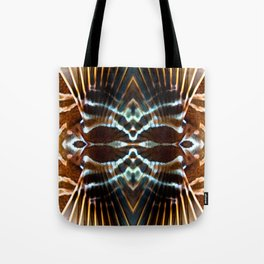 Lionfish Pattern Tote Bag